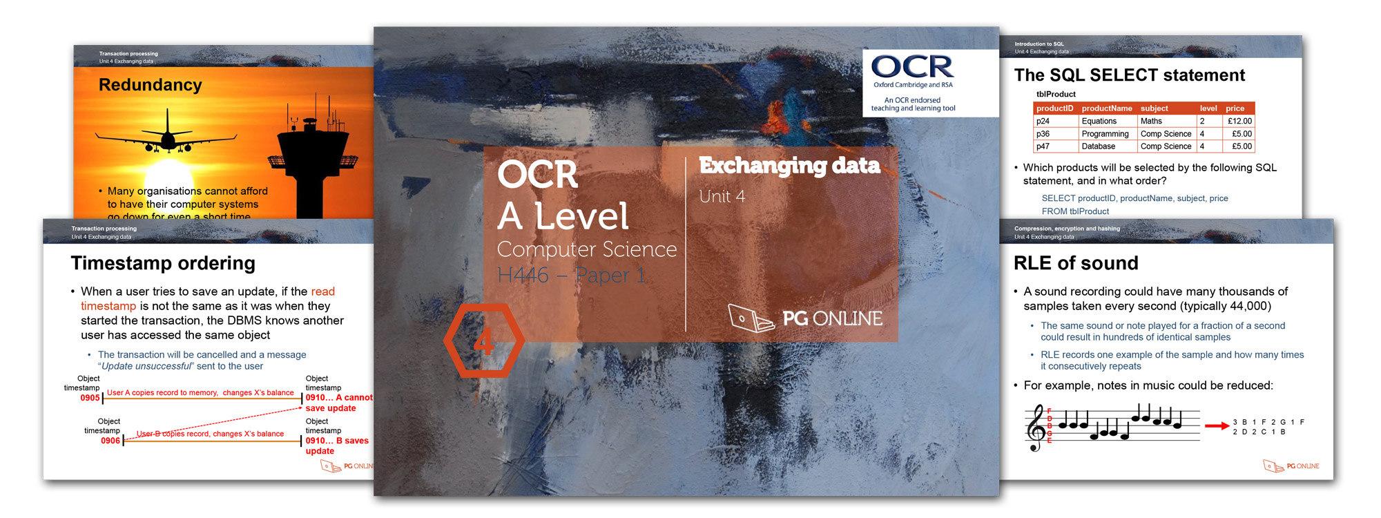 PG Online - OCR A Level Computing Teaching and Learning Resources