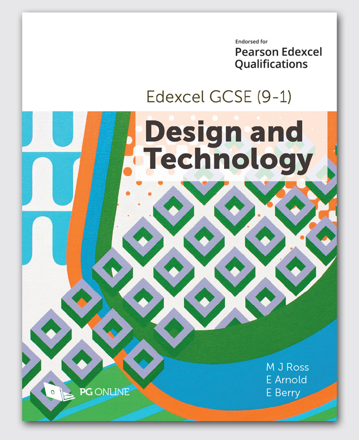 Edexcel GCSE (9-1) Design and Technology 1DT0 (Textbook)