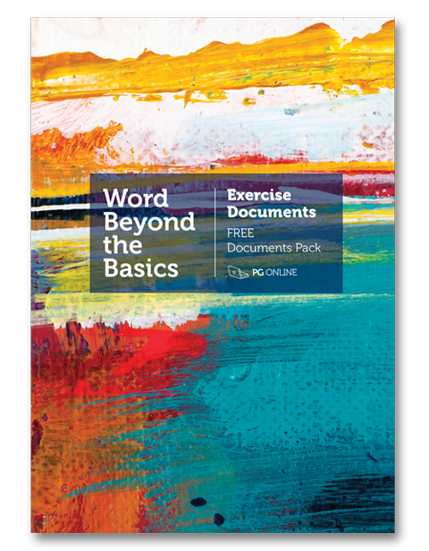 Word Beyond the Basics Exercise Documents