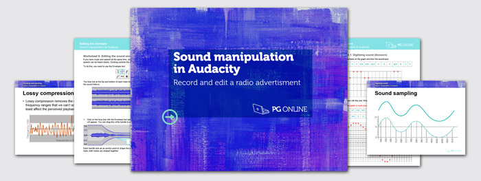 Sound editing in Audacity | PG Online