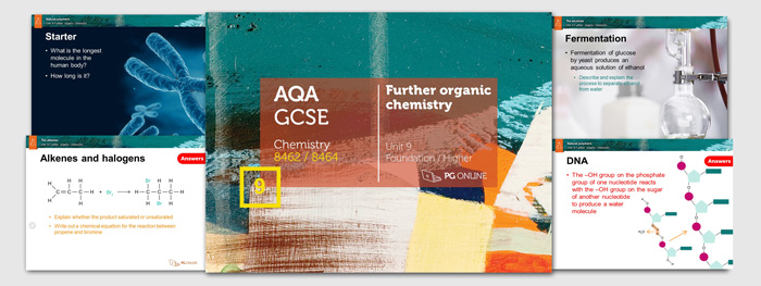 Resources > Chemistry > Gcse Aqa > Unit 9 Further Organic