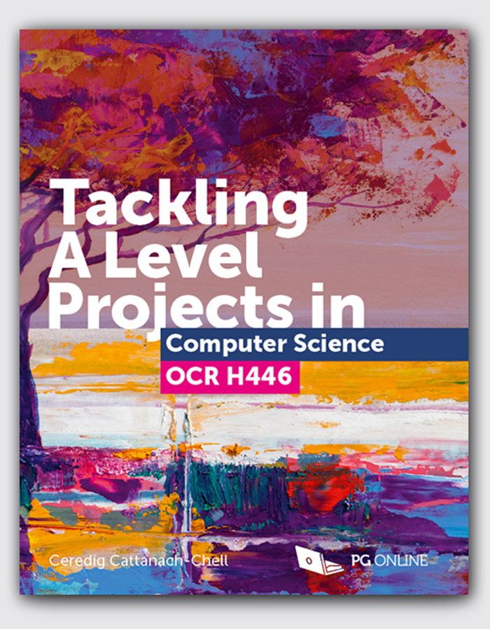 Tackling A Level projects in Computer Science OCR H446