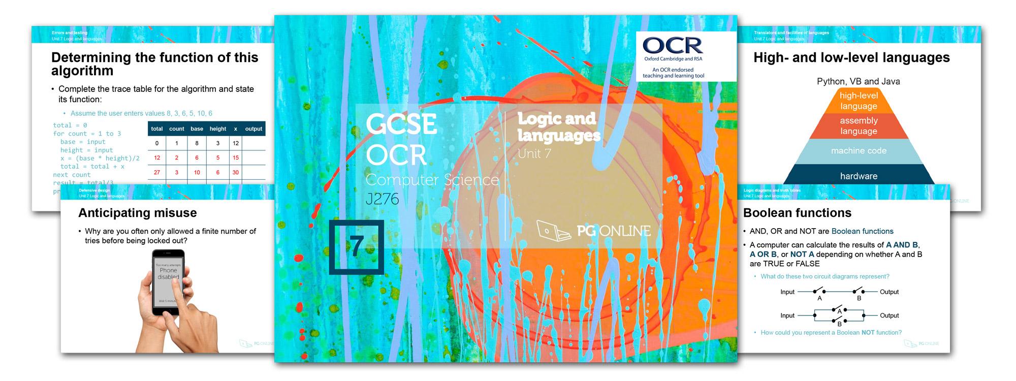 Resources > Computer Science > Gcse Ocr > Unit 7 Logic Gates and ...